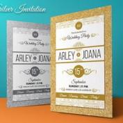 دانلود طرح لایه باز کارت دعوت عروسی و جشن تولد