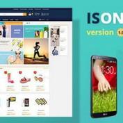 پوسته فروشگاهی IsOne Store برای ووکامرس
