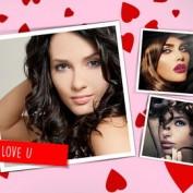 دانلود قالب قاب عکس عاشقانه و رمانتیک به فرمت PSD