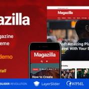 پوسته مجله خبری Magazilla برای وردپرس