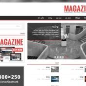 قالب خبری وردپرس Magazine Lite فارسی