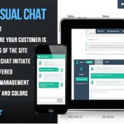 PHP-Flat-Visual-Live-Chat