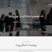 دانلود قالب وردپرس شرکتی Parallaxsome فارسی