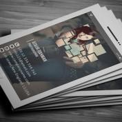 قالب آماده کارت ویزیت عکاسی و فتوگرافی با فرمت PSD
