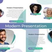 دانلود پروژه آماده افتر افکت ارائه و پرزنت مدرن Clean Modern Presentation