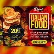 دانلود تراکت تبلیغاتی رستوران به صورت لایه باز