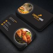 دانلود طرح لایه باز کارت ویزیت رستوران و فست فود