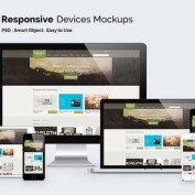 دانلود موکاپ صفحه نمایش دیوایس های مختلف