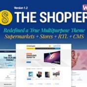 پوسته فروشگاهی Shopier برای ووکامرس