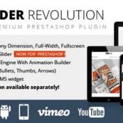 افزونه اسلایدر رولوشن برای فروشگاه ساز اوپن کارت Revolution Slider Prestashop