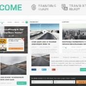 پوسته وبلاگی و شخصی SteadyIncome برای وردپرس