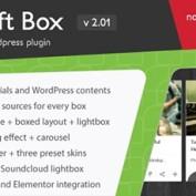 افزونه نمایش و اسلایدر محتوا Swift Box وردپرس