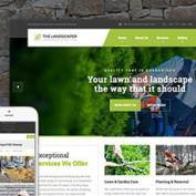 پوسته خدمات کشاورزی The Landscaper برای وردپرس