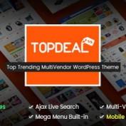 پوسته فروش محصولات دیجیتال TopDeal برای وردپرس