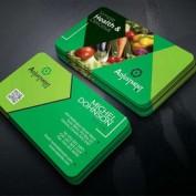 دانلود طرح لایه باز کارت ویزیت گلخانه میوه و سبزیجات