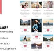 افزونه مدیریت و طراحی وبلاگ وردپرس WP Blog Manager