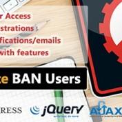 افزونه مسدود کردن کاربران در وردپرس WP Ultimate BAN Users