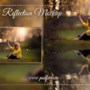 قالب آماده ایجاد افکت انعکاس آب بر روی تصاویر