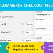 افزونه ویرایش فیلدهای تسویه حساب در ووکامرس WooCommerce Checkout Field Modifier