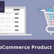 افزونه جدول محصولات ووکامرس WooCommerce Product Table