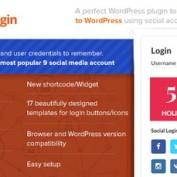 افزونه ورود و عضویت در وردپرس با اکانت شبکه اجتماعی AccessPress Social Login