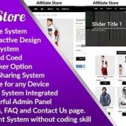 اسکریپت ایجاد راه اندازی فروشگاه با قابلیت همکاری در فروش Affiliate Store