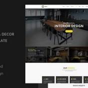 دانلود قالب HTML دکوراسیون داخلی Arch Decor