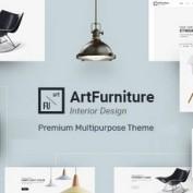 دانلود قالب فروشگاه لوازم خانگی Artfurniture برای وردپرس