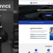 دانلود قالب HTML راه اندازی سایت مکانیکی Auservice