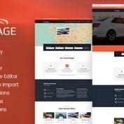پوسته فروش خودرو Autoimage برای وردپرس