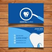دانلود طرح لایه باز کارت ویزیت دندان پزشکی