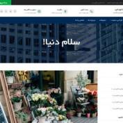 دانلود قالب وبلاگی وردپرس Businessup فارسی
