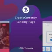 دانلود قالب HTML صفحه فرود کریپتوکارنسی BuyCoin