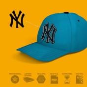 دانلود مجموعه 3 موکاپ کلاه بیسبال به صورت لایه باز
