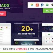 پوسته راه اندازی وب سایت ثبت آگهی Classiads برای وردپرس
