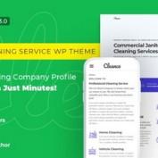قالب HTML سرویس ابری و خدمات میزبانی وب Cleanco