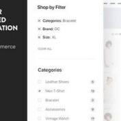 افزونه فیلتر آژاکس محصولات ووکامرس Clever Layered Navigation