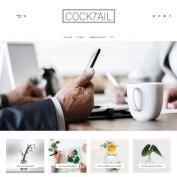 قالب وردپرس وبلاگی Cocktail فارسی