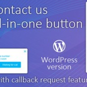 ایجاد دکمه تماس در وردپرس با افزونه Contact us