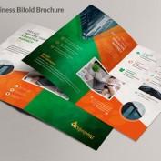 طرح لایه باز بروشور کسب و کار شرکتی قابل ویرایش در فتوشاپ و ایلاستریتور