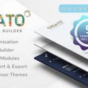 صفحه ساز HTML به صورت آنلاین با اسکریپت Creato