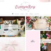 قالب وردپرس فروشگاهی Crimson Rose فارسی