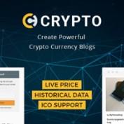 پوسته خبری و نمایش قیمت ارز Crypto برای وردپرس