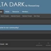دانلود قالب Delta Dark برای زنفورو , قالب زنفورو