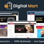 دانلود قالب فروشگاهی Digital Mart برای اپن کارت
