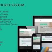 اسکریپت پشتیبانی به صورت تیکتینگ Dove Ticket System