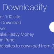 اسکریپت ویدیو دانلودر از 100 سایت بزرگ دنیا Downloadify