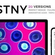 قالب HTML سایت در دست ساخت DSTNY