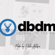 قالب نمونه کار تک صفحه Dubidam برای وردپرس
