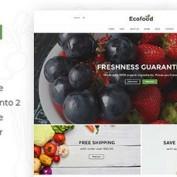 دانلود قالب فروشگاهی Ecofood برای مجنتو
